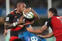 Crusaders hold their nerve